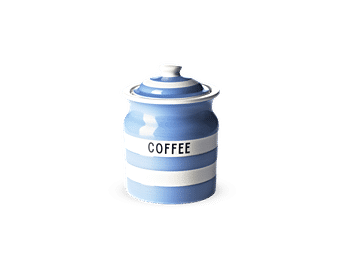 NEW Cornishware Blue Medium Storage Jar 840ml